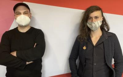 """""""Premier rendez-vous"""" entre Thomas Flahaut et Charlie Crettenand – RTS la Première"""